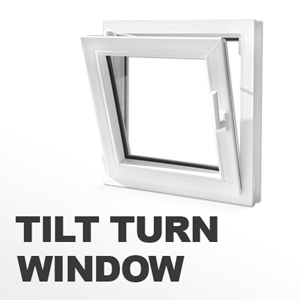Tilt Turn Vinyl Windows