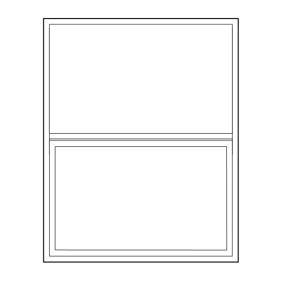 Single Hung Window - 42'' to 48'' Wide, 60'' to 72'' High
